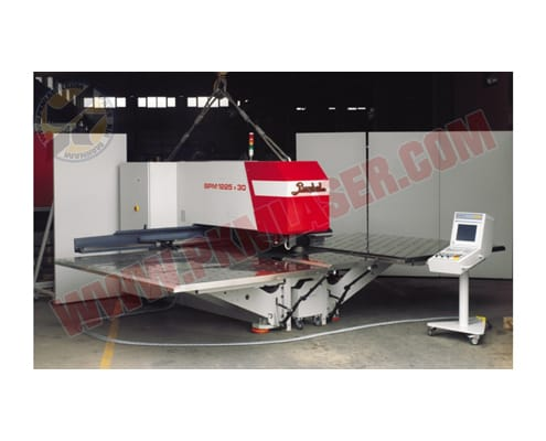 دستگاه پانچ CNC بایکال BPM