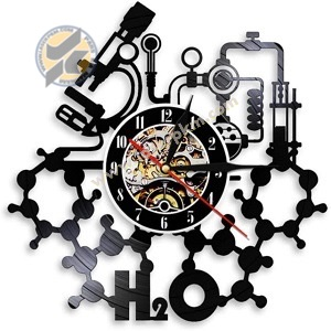 طرح ساعت شیمی دان