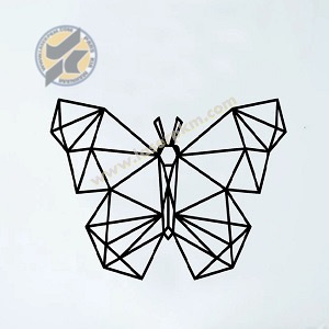 طرح لیزر پروانه