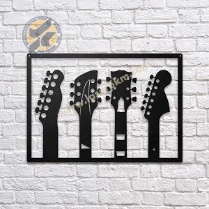طرح لیزر تابلو گیتار